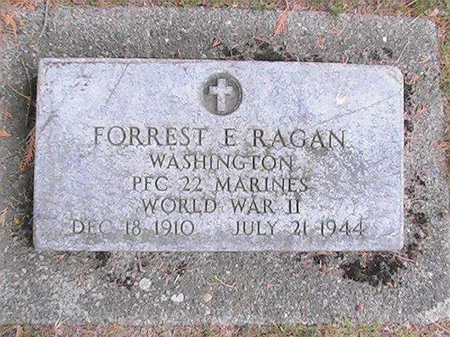Forrest Ragan Headstone