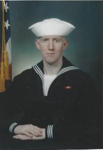 Guy in navy
